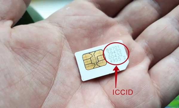 ICCID на СИМ-карте