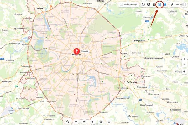 Яндекс.Карты на компьютере